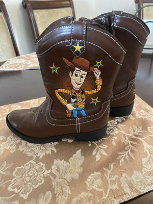Toy story size 12 boots for kids 🥾 for Sale in National City, CA