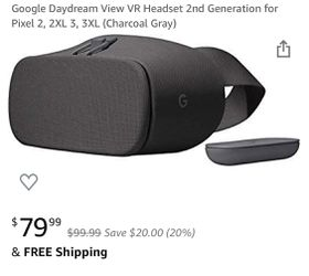 Google Daydream View VR headset for Sale in Glendale,  CA