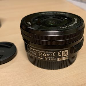 Sony 16-50mm OSS and 55-210mm OSS E mount for Sale in Seattle, WA