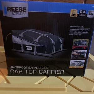 Car Top Carrier for Sale in Huntley, IL