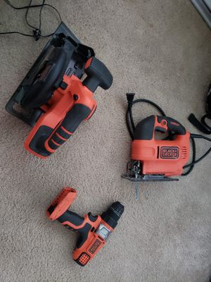 Black and decker power tools for Sale in Port Orchard, WA