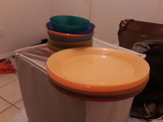Toddler plates,bowls and spoons for Sale in Moriarty,  NM