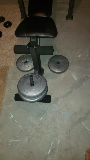 Weight set for sale! for Sale in Toledo, OH