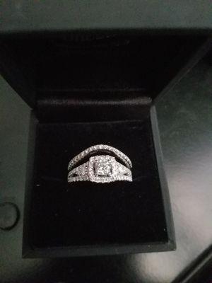 2.5 karat diamond white gold wedding ring for Sale in Rancho Cucamonga, CA