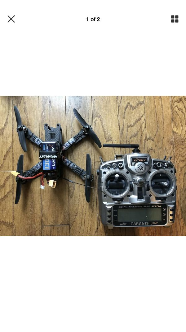 Racing Drone with Clean Flight Controller