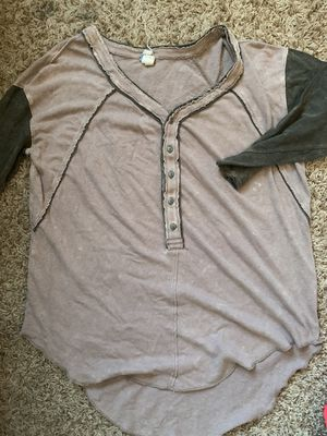 Free People Baseball Tee for Sale in Lincoln, NE