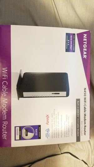 Netgear new wifi router N450 for Sale in Tustin, CA