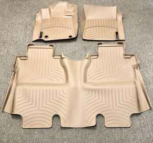 New For 14-18 Toyota Tundra CrewMax Floor Liner Rubber Mats Pads Kit WeatherTech for Sale in Whittier, CA