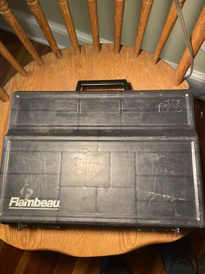 Fishing tackle box for Sale in Torrington, CT