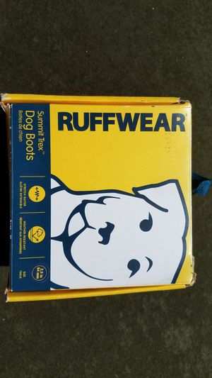 Ruffware- Dog Boots, Large in Storm Gray for Sale in Milan, MI