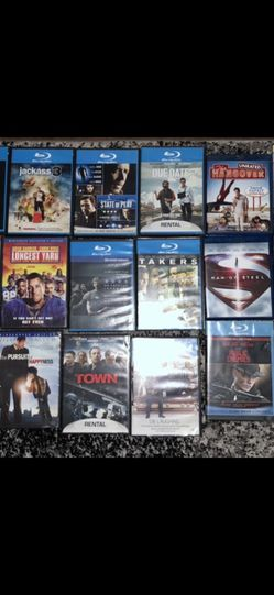 23 Blue Ray And DVD Movie Lot Bundle for Sale in Hayward,  CA