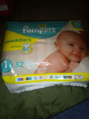Pampers Swaddlers for Sale in Keansburg, NJ