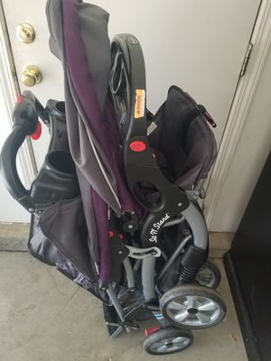 Baby Trend Sit 'N Stand Double Stroller, Elixer Purple for Sale in Elk Grove, CA