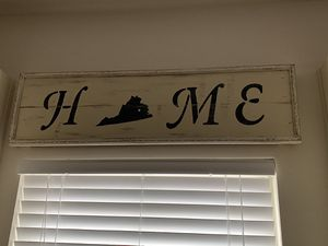 Virginia Home sign for Sale in Moseley, VA