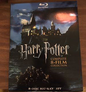 Harry Potter Complete 8 Film Collection on Blu-day for Sale in Victoria, TX