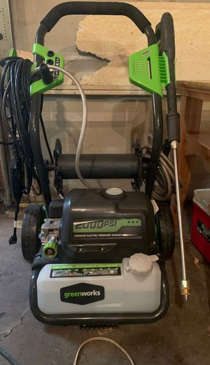 2000 psi electric pressure washer for Sale in Troy, MI