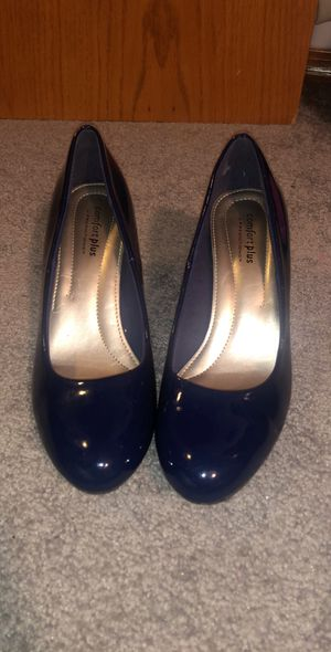 Small heel patent leather heels for Sale in Wichita, KS