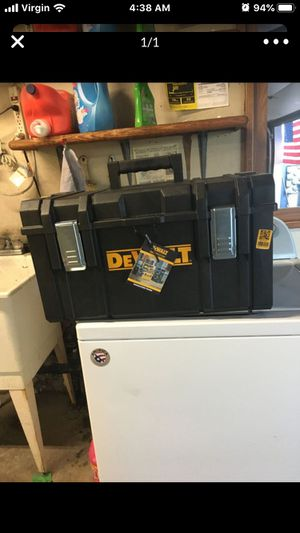 Dewalt tool box firm price no offers for Sale in San Diego, CA
