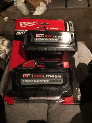 M18 RED LITHIUM HIGH OUTPUT XC6.0 for Sale in Oakland, CA
