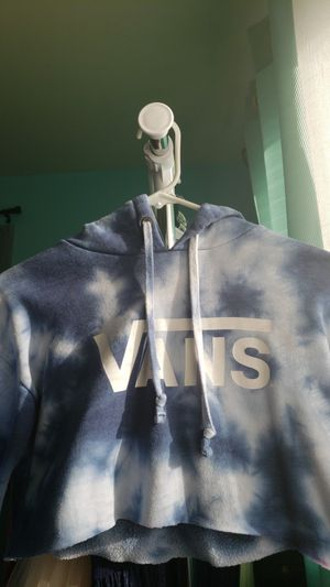 vans crop top hoodie for Sale in Pasco, WA