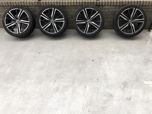 21 inch Alum Wheels and Tires for Sale in Seattle, WA
