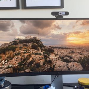Dell Curved Monitor, Dock, Wireless Keyboard And Mouse for Sale in District Heights, MD