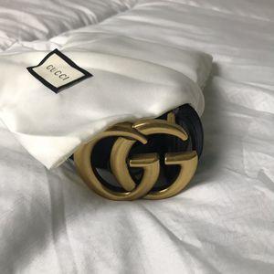 Gucci Black Leather Belt for Sale in Arlington, VA