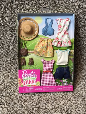 Barbie Sweet Orchard Farm Doll Clothes Spring Summer for Sale in Buckhannon, WV