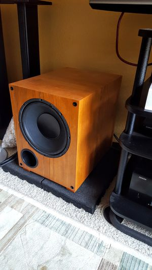 Powerful subwoofer for home theater- 2 available for Sale in Encinitas, CA