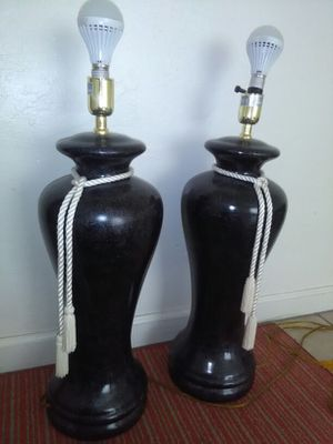 A pair of super cool lamps for Sale in Las Vegas, NV