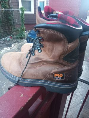Pro insulated steel toe timberland work boots 10n ahalf for Sale in Lynn, MA