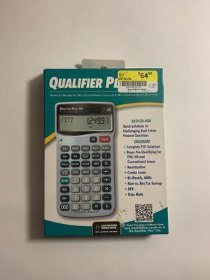 Calculated Industries Qualifier Plus IIIx 3415 Financial Calculator for Sale in Bellingham, WA
