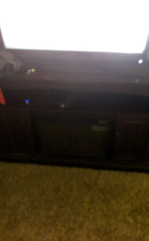 Tv stand with fire place for Sale in Washington, IL