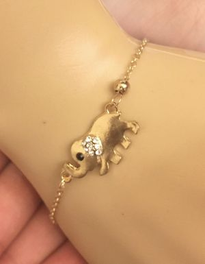 Elephant chain bracelet gold colored for Sale in Hilliard, OH