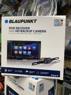 DVD player with back up camers for Sale in Fresno, CA