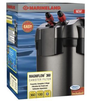 Marineland magniflow 360 canister filter for Sale in Washington, DC