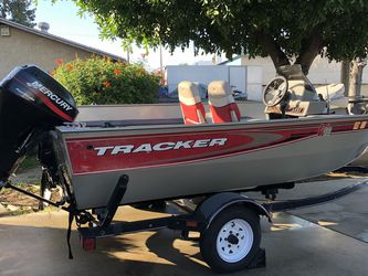 2003 Bass tracker Super Guide V16 Fishing Boat for Sale in Baldwin Park,  CA