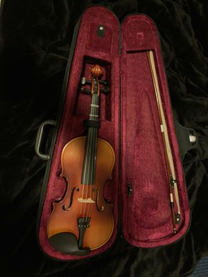 Violin with case and rosin for Sale in New Haven, CT