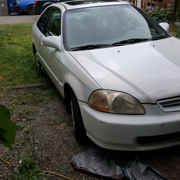 1997 Honda Civic EX Coupe 1.6 VTEC For Sale In Everett, WA