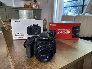 Canon Eos Rebel t7i for Sale in Lafayette, CA