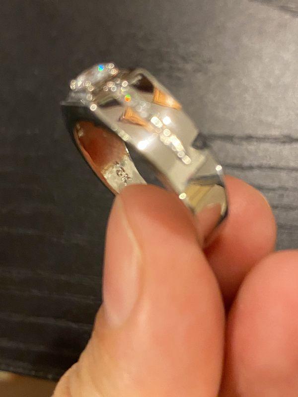 Unisex 18K Gold Engagement/Wedding Ring - Code GAND01