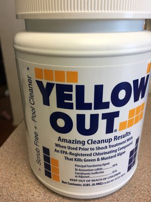 Yellow Out Pool Algicide for Sale in San Diego, CA
