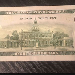 $100 Dollar With Star for Sale in Downey, CA
