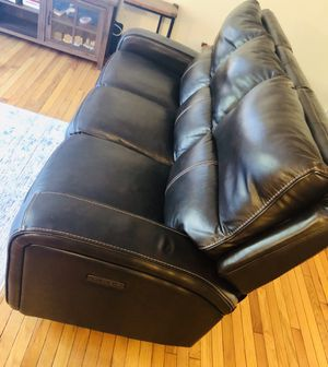 Leather couch for Sale in Centreville, VA