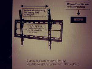 "Tv wall mount flat panel 32-65"" for Sale in Avondale, AZ"