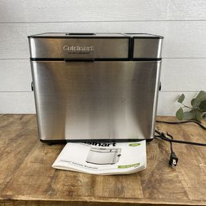 Cuisinart Automatic Home Bread Maker Silver CBK-100 With Instructions for Sale in Bakersfield, CA