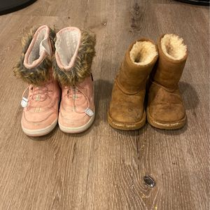 FREE Toddler UGG Boots & H&M Snow boots for Sale in Glendora, CA