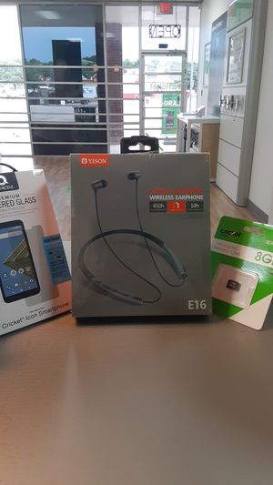 Wireless Earphone, Tempered Glass, and 8GB SD Card Bundle for Sale in Austin, TX