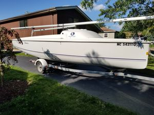 """HUNTER SAILBOAT """"DAYSAILER"""" """"2005""""- 21'6"""" w trailer and motor for Sale in Lombard, IL"""