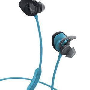 BOSE- SoundSport Wireless Headphones (BLUE & BLACK) for Sale in Summit, NJ